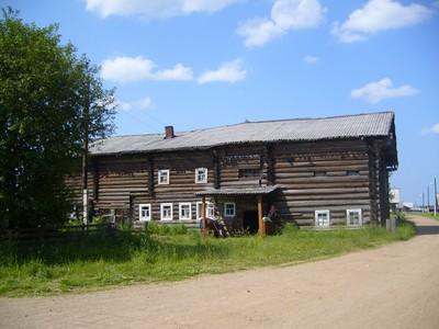 Деревня Ёркино Пинежского района Архангельской области