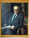Портрет Б. А. Ларина  (холст, масло)